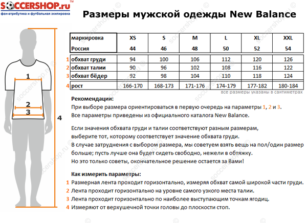 Таблица размеров New Balance. Размеры Нью Бэланс.